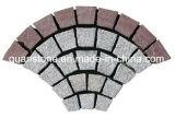 Granito rosado natural de las pavimentadoras G648/piedra cúbica para la piedra de la pavimentadora/del paisaje del jardín