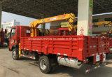 Mini Sinotruk 3 T Telescopic XCMG Crane op Lorry Truck