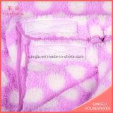 Essuie-main mol d'ouatine de Bath d'essuie-main de qualité de corail de textile
