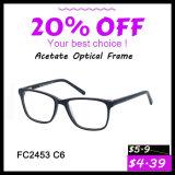 Frame ótico do Eyeglass novo o mais atrasado de Eyewear do acetato do projeto