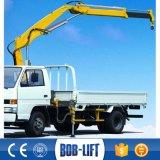 Pequeña grúa del cargamento del camión del carro de 2 toneladas