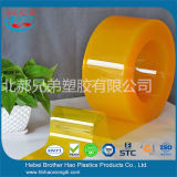 De beste Strook van het Gordijn van de Deur van het anti-Insect van de Prijs Gele Vlotte Plastic