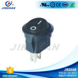 Sub-Mini Round Rocker Switch 2pin Dia 15mm on-off