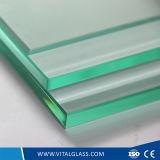 Transparentes Floatglas mit Cer u. ISO9001 für Gebäude-Glas