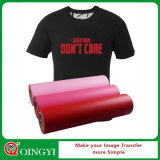 Пленка передачи тепла PVC низкой цены Qingyi оптовая для одежды