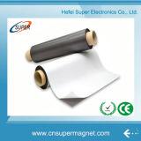 Aimant en caoutchouc adhésif de feuille anisotrope isotrope flexible d'aimant en caoutchouc