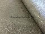 Cuero artificial colorido del PVC del diseño moderno para el bolso/el sofá/los muebles y la decoración interior