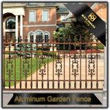 Vente en gros et frontière de sécurité en aluminium de noir de moulage enduite par poudre de prix bas pour le jardin