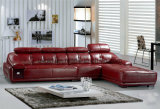 جلد أريكة أثاث لازم أريكة حديثة مع ركن لأنّ أثاث لازم بيتيّة ([هإكس-ف603])