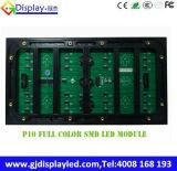 Afficheur LED extérieur polychrome du G-Dessus P10