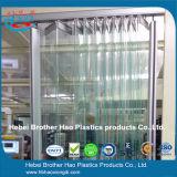200mm Breiten-Akkordeon-flexible freie Plastikvorhang-Streifen-Tür-Blätter
