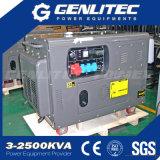 driefasen Lucht Gekoelde 8kw 10kVA Stille Diesel Draagbare Generator (dg12000se-3)