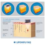 máquina de fusión gorda costada Cellulaze de la profundidad del tratamiento del 1.3cm los 0.8cm
