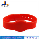 Bracelet personnalisé sec de silicones d'IDENTIFICATION RF pour le colis d'aéroport
