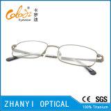 Blocco per grafici di titanio di vetro ottici di Eyewear del monocolo dell'ultimo Pieno-Blocco per grafici di disegno (9309)