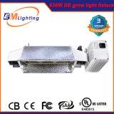 Doppeltes beendeter Reflektor DIY LED 600W 630 CMH/HPS wachsen hellen Installationssatz