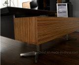 2017新製品の現代革MDFのオフィス用家具(V5)