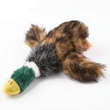 애완견 삐걱거리는 장난감 비행 오리 모양 애완 동물 공급