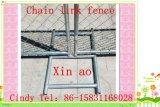 Cerca de la conexión con el panel de la cerca de Basetemporary con marca de fábrica plástica de los Pies-Xinao