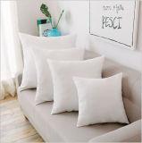 Твердая белая домашняя декоративная квадратная подушка кровати