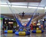Trampolino gonfiabile per i bambini, trampolino dell'interno dell'ammortizzatore ausiliario del centro commerciale dell'ammortizzatore ausiliario
