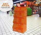 Présentoir acrylique d'étagère de supermarché