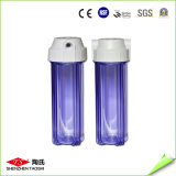 Boîtier de filtre à eau claire de 10 pouces pour purificateur d'eau