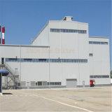 Struttura d'acciaio prefabbricata per il gruppo di lavoro ed il magazzino della fabbrica
