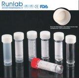 FDA eingetragene und CER genehmigte 30ml Universal-pp. Probenmaterial-Behälter mit Printd Kennsatz
