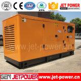 Охлаженный воздухом тепловозный комплект генератора 50kw 60kVA молчком Genset