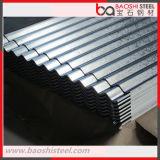 Placa de acero galvanizada del material de construcción de la hoja del material para techos