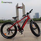 Verstecktes elektrisches Fahrrad des Batterie-fettes Gummireifen-36V/48V