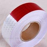 Bandes r3fléchissantes de PVC de sûreté blanche et rouge de DOT-C2 pour des remorques