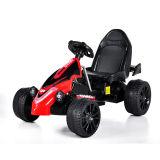 Elettrico Guidare-sul nero Car- Kart (due batteria di telecomando del giocattolo dei bambini del motore due)