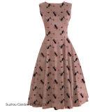 Kleding van Rockabilly Pinup van de jaren '50 van het Katje van de Vrouwen van de Fabrikant van de kleding de Uitstekende Roze