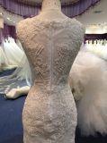 Neues Ankunfts-Hüllen-Hochzeits-Kleid 2017 mit langer Hülsen-Umhüllung