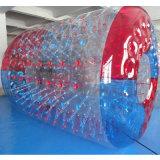 PVC 또는 TPU 물 공원을%s 팽창식 물 롤 볼