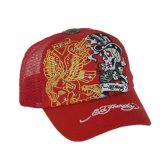 Chapéu do camionista do Snapback do painel do costume 5 do chapéu do lazer com bordado