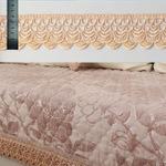 Lacet chaud de broderie de couleur de chameau de largeur des échelles de poissons de vente en gros d'action d'usine de vente 5.5cm pour les textiles et les accessoires et les rideaux de vêtement à la maison