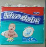 Todo o tecido superior descartável do bebê do OEM dos tamanhos com bom preço