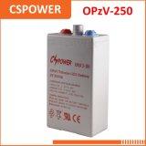 Bateria aprovada 2V250ah de Opzv do Ce para o sistema de energia solar Opzv2-250