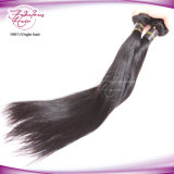 Extensões peruanas do cabelo de Remy do Virgin reto para o cabelo preto