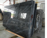 Noir de marbre neuf Marquina de brame de 2017 Nero Margiua pour le dessus de vanité
