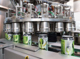 Máquina de enchimento líquida de alta velocidade giratória inteiramente automática