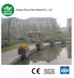 Fatto in contenitore composito di plastica di fiore del legno cinese