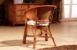 등나무 가구 여가 작풍 등나무 탁자와 의자