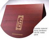 Коробка подарка Storaging красного вина MDF печатание деревянного твердая