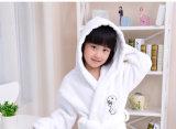 Accappatoi poco costosi di prezzi del cotone dei capretti per le bambine ed i ragazzi