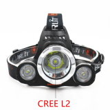 12000lm Headlight+18650 Battery+Car USB AC Lader