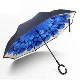 Самый лучший продавая зонтик вала Haxagon перевернутый обратным вверх ногами